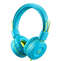 professional Children's Headphones-Free Product K22 Tangleless Folding 3.5 mm Stereo Socket, Cable to Ears…