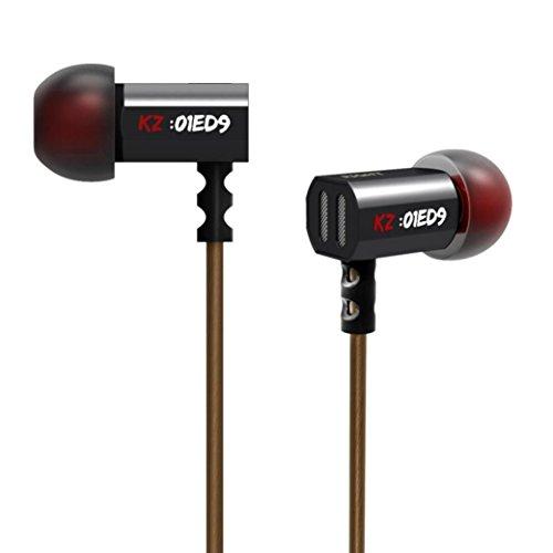 Ouneed® In-Ear Ohrhörer, 1PC KZ ED9 Super Bowl Tuning T-förmigen Düsen Monitoring Kopfhörer HiFi Kopfhörer Kopfhörer Ohne Mikrofon