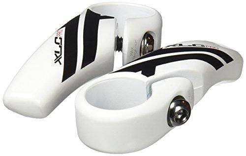 XLC Zubehör Pro Bar-Ends gerade BE-A14, weiß, 83 mm