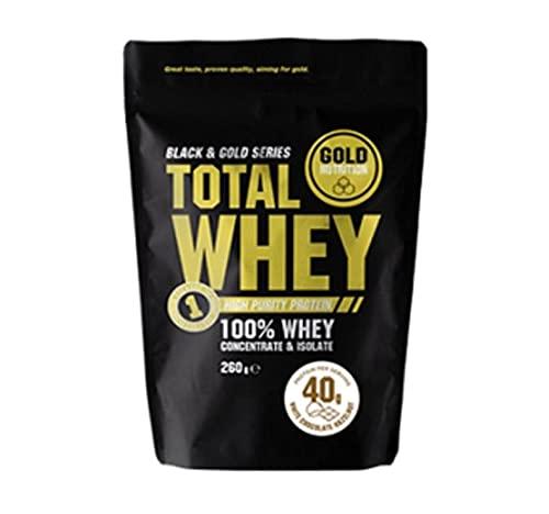 Gold Nutrition Suero De Leche Total 260gr Fresa&plátano