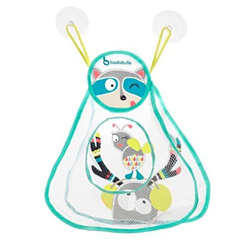 Badabulle Badenetz Waschbär zum Abtropfen & zur Aufbewahrung von Badespielzeug