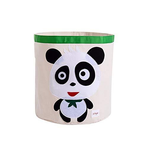 SXDHOCDZ Cubo de almacenamiento de dibujos animados plegable para ropa sucia, cesta de almacenamiento de tela impermeable para el hogar (color: #2)