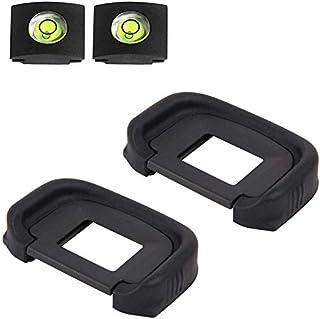 EG Eyepiece Eyecup Viewfinder Eye Cup for Canon EOS 5D Mark III 3/5D Mark IV 4/7D /1D Mark IV 4 Camera (2-Pack), ULBTER 5D...