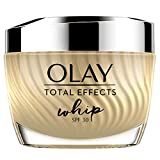 Olay Total Effects Whip Light as Air Hidratante SPF30, Crema vitamina C y E para una piel de aspecto saludable, 50 ml