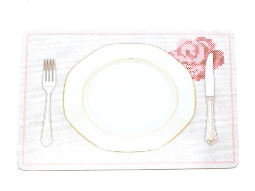 pt, PT0763 Set de Table Fleurs Brodées