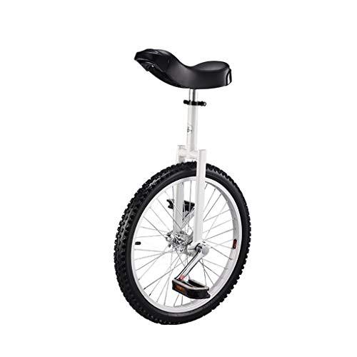 DC les Monociclos Carretilla, Monociclo Deportivo para Adultos de 16 Pulgadas / 18 Pulgadas / 20 Pulgadas para niños, Acrobacias, Bicicleta de Equilibrio para una Sola Aptitud (5 Opciones de Color)