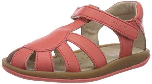 CAMPER Mädchen Bicho FW T-Spangen Sandalen, Pink (Medium Pink 660), 23 EU