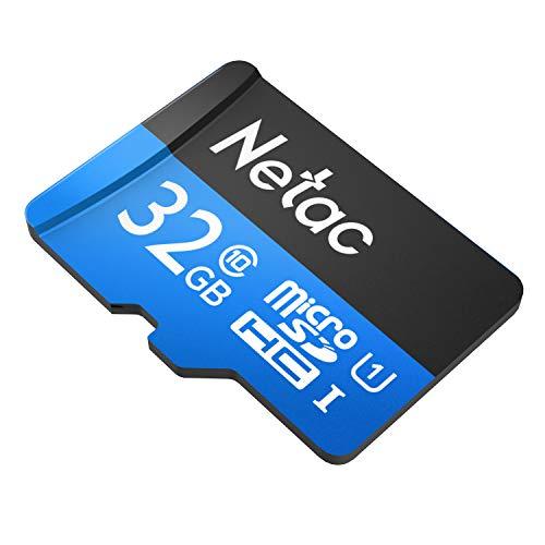 Cartão Memória MicroSD 32GB 80MB/s Netac c Adap