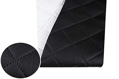 Tukan-tex, tessuto per mobili in ecopelle, trapuntato, al metro, in PU