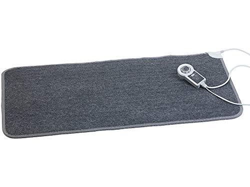 infactory Heizteppich: Beheizbare Infrarot-Fußboden-Matte, Vliesstoff, 105x55cm, 60 °C, 155 W (Fußmatte beheizbar)