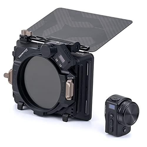 Tilta 4x5.65' Telaio filtro Mirage Motorized VND Kit Scatola opaca per DSLR Mirrorless, Vassoio Filtro ND Variabile da 95 mm Controller Wireless MB-T16-B