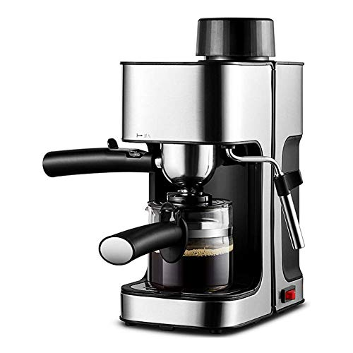HRRF Máquinas para café doméstico, Oficina en el hogar Multifuncional Multifuncional Leche de Lujo Máquina de café Máquina de café Anti-Seco