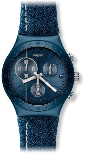 Swatch Reloj de Cuarzo Unisex Follow The Line 40 mm