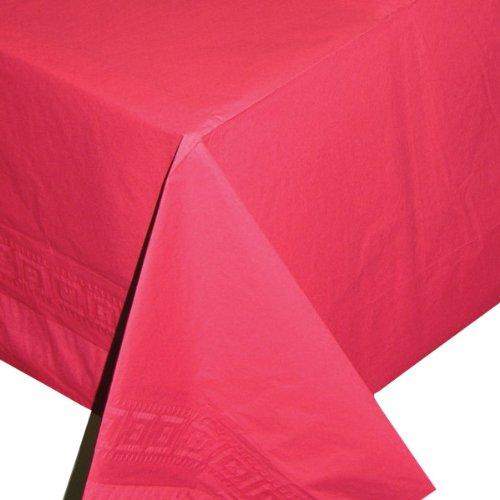 Nappe rouge en papier - taille - Taille Unique - 201300
