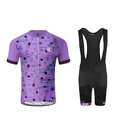 Uglyfrog 2020 Maillots de Ciclismo Hombres Camiseta y Pantalones Cortos de Ciclismo Conjunto de Ropa para Ciclismo al Aire Libre DXML01