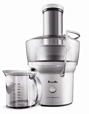 Breville BJE200XL looks like an ordinary food processor, has a metallic color and has its own jar