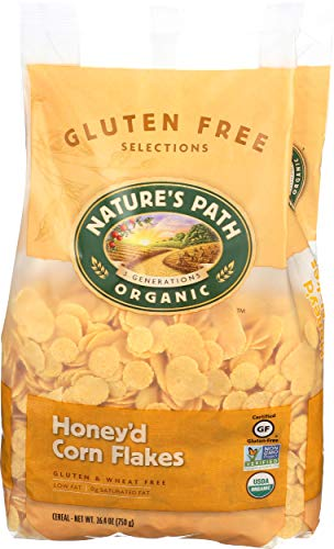 Natures Path Cereal Flakes Honeyed Corn, 26.4 oz