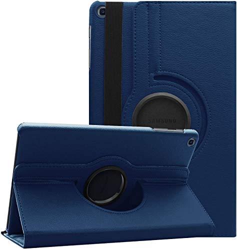 ToProducs - Funda para Samsung Galaxy Tab A 10.1 2019 T510 T515 (función atril, rotación de 360º, incluye lápiz óptico), color azul