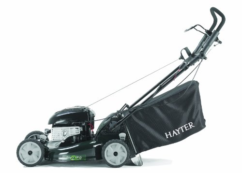 Hayter R53S 21-inch Recycling / Mulching Self Propelled Electric Start Petrol Lawnmower