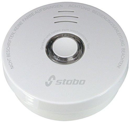 Stabo Elektronik Rauchwarnmelder weiß, 51116