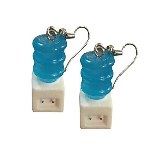 Ruby569y Hängende Ohrringe für Frauen und Mädchen, niedliche Frauen Badewanne Closestool Wasserspender Baumeln Haken Ohrringe Schmuck Geschenk – Wasserspender