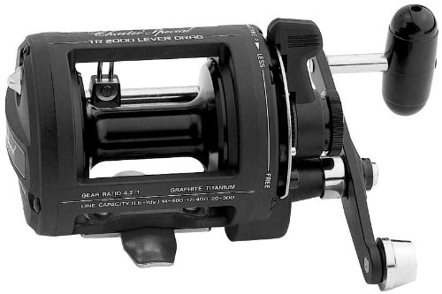 Shimano TR1000LD Charter Special Salt Water Reel Levelwind with 12/390, 14/330 and 17/250 Line Capacity by Shimano
