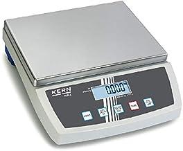 Balance de table avec grand plateau de pesée [Kern FKB 8K0.1A] Précision jusqu'à 0,1 g, plage de pesée max. de 8 kg