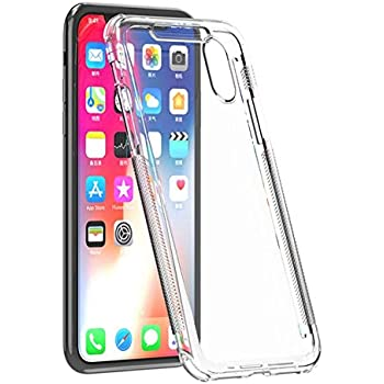 Shieldx2 IPH X/XS Ultra Thin Transparent Case with Tempered Glass Screen Protector and Phone Replacement Promise for iPhone X/iPhone Xs - Clear