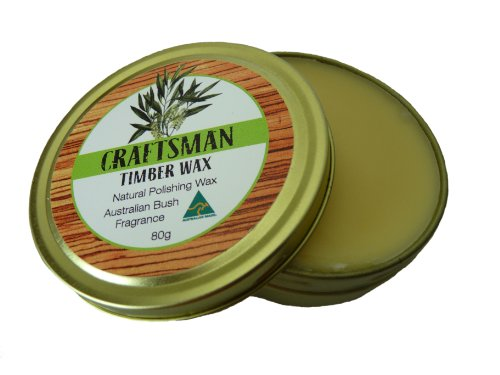 Australian Wood Wax - Craftsman Timber Wax - No Turpentine or solvents