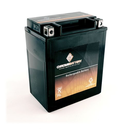 Rechargeable YB14L-A2 Battery - High Performance Power Sports - Replaces YTX14AHL-BS