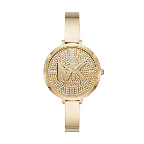 Michael Kors Women's Charley Three-Hand Gold-Tone Alloy Watch MK4469