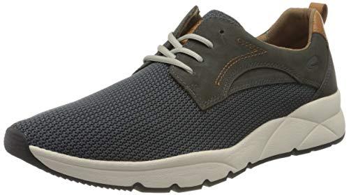 camel active Herren Run Sneaker, Grau (slate 02), 46 EU (11 UK)