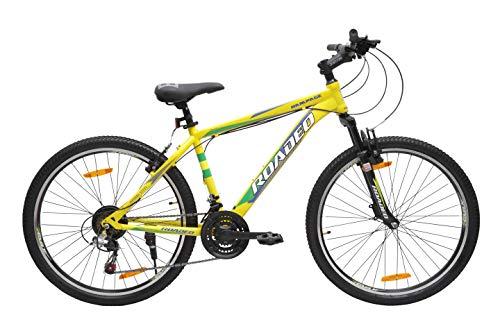 Hercules Roadeo Rampage 26T 21 Speed Premium Geared Cycle(Yellow)