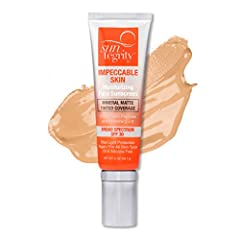 Moisturizing Face Sunscreen Infused with Peptides and Vitamins C & E Non-Nano Zinc Oxide - provides Broad Spectrum SPF 30 protection Blue Light Protection (from Melanin) Vegan / For All Skin Types / Oil & Silicone Free