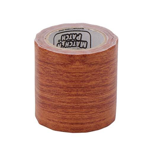 XIANZI 5M / Roll Realista Woodgrain Repair cinta adhesiva adhesiva 8 colores para muebles