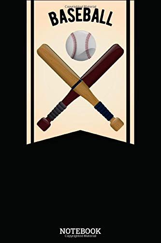 Notebook: Baseball Sport Designs Blank Lined Journal To Write In For Notes, Ideas, Diary, To-Do Lists, Notepad - Baseball Gifts For Baseball Lovers, ... Kids, Professional, Beginners, & Students
