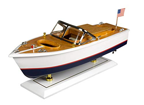 Navyline Holz Standmodell - Amerikanisches Motorboot