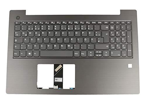 Lenovo Tastatur inkl. Topcase DE (deutsch) grau/grau Original 5CB0Q60020 V330-15IKB (81AX) / V330-15ISK (81AW)