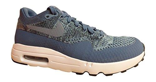 Nike Air MAx 1 Ultra Flyknit Heren Running Trainers 875942 Sneakers Schoenen (UK 6/US 6.5/EU 39, Ocean Fog mica Blauw 400)