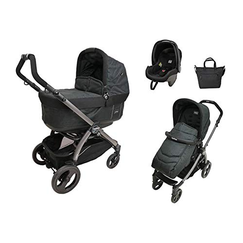 Kinderwagenset Peg Perego Book 51 Pop-Up - Onyx