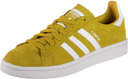 adidas Campus, Zapatillas de Gimnasia para Hombre, Gris (Ash Grey S18/Ice Mint/Active Orange Ash Grey S18/Ice Mint/Active Orange), 44 2/3 EU