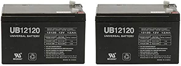 Universal Power Group 12Volt 12AH Battery for Go-Go Mobility Elite Traveller SC40E, SC44E - 2 Pack
