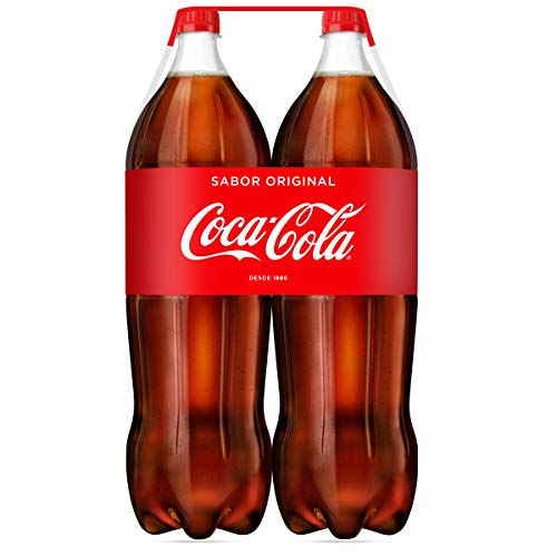 Coca-Cola Sabor Original Botella - Pack de 2 unidades x 2 l