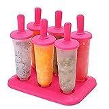 6 unidades/1 juego circular con tapa bandeja de hielo DIY molde de helado molde de pastel para decoración de la cocina de la hornada hecha a mano muffin chocolate galletas molde decoración