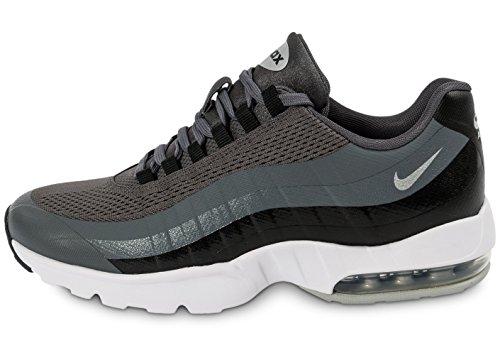Nike Wmns Air MAX 95 Ultra, Zapatillas de Deporte Mujer, Gris (Dark Grey/Mtllc Slvr-Blk-White), 36 1/2