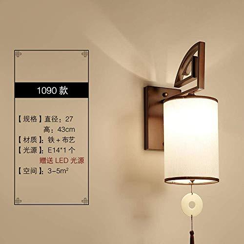 CHOUCHOU Apliques Pared Lámpara de Pared Lámpara de cabecera Lámpara de Pared Dormitorio del Fondo del Pasillo del Hotel de la lámpara de la Sala de la lámpara de Pared, Camel B1090