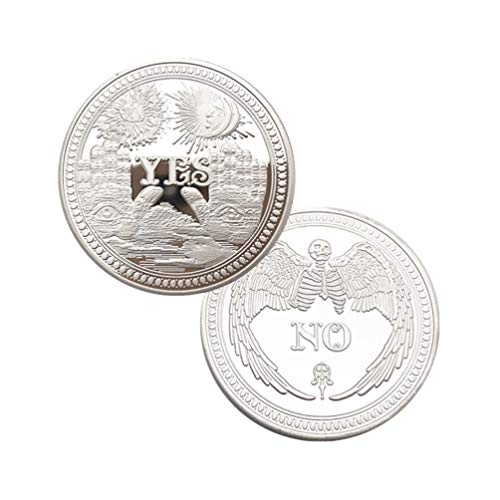 KESYOO - Sammlermünzen in Silber, Größe 4cm