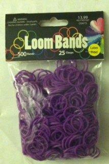 Loom Bands Value Pack 500/Pkg-Purple