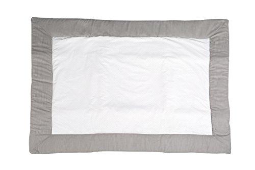 roba Tapis d'éveil 'Dotty', manette de jeu bébé / tour de parc 100x135cm, côté supérieure: 100% coton, côté postérieure: 35% coton, 65% polyester.