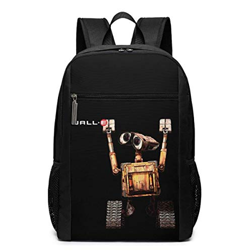Lawenp Wall-E Robot Backpack 17 Inch Laptop Bags College School Backpack Casual Daypack for Travel
